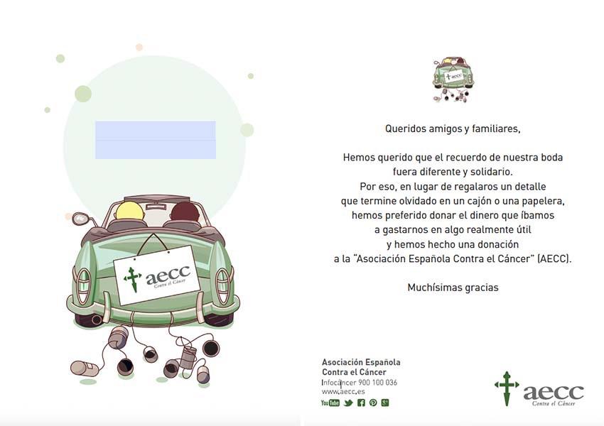detalles de boda solidarios- aecc